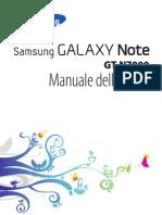 GT N7000 manuale Utente