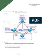 CCNPv6 ROUTE SBA Skills-Based Assessment