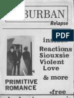 Suburban Relapse #1 (fanzine)