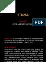 STROKE in English