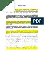 Sobre La Oscuridad Fundamental Articulo El Bien y El Mal Revista Quaterly Oct 2002