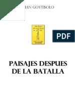 40439442 Goytisolo Juan Paisajes Despues de La Batalla