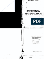 Rezistenta Materialelor - Prof. Panait Mazilu