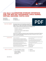The next-generation storage interface for the Red Hat Enterprise Linux Kernel Virtual Machine