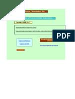 hojas de calculo actualizacion y recargos