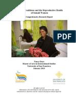 Reproductive health of Somali women