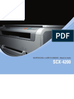 Manual Samsung SCX 4200