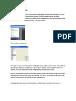 Manual sobre el programa Cool Edit