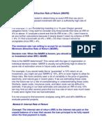 Engineering Economics  Module 8