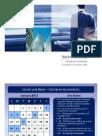 Indian Compliance Calendar