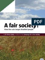 A Fair Society?