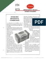 Levapan Boletin Tecnico 007 - Levaduras Biologicas Comerciales
