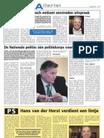 PS Hans van der Horst verdient een lintje