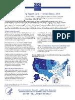 Breastfeeding Report Card –– United States, 2010