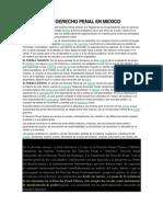 Historia Del Derecho Penal en Mexico