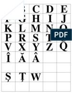 litere pentru alfabetar