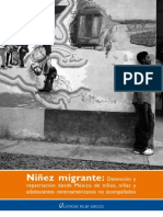 Child Migration  - The Detention and Repatriation of  Unaccompanied Central American Children from Mexico.
