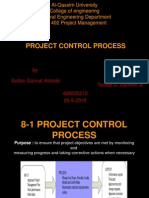 Project Control Process in Management