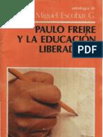 Paulo Friere y la educación liberadora