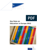Key Data on Education in Europe 2012
