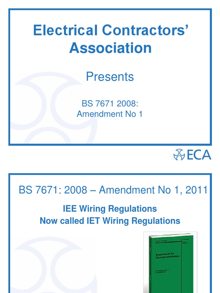 Admirable 2011 New 17Th Edit Iet Iee Wiring Regulations Bs 7671 2008 With Wiring Digital Resources Funapmognl