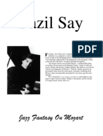 Fazyl Say - Jazz Fantasy on Mozart