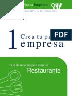 guia para abrir restaurante