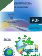 Educación Ambiental y Ley Orgánica del Ambiente