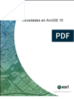 NOVEDADES DE ARC GIS 10