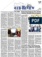 Pioneer Review, January 17, 2013