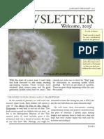 Newsletter Jan Feb 13