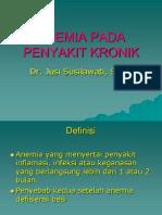 Anemia Pada Penyakit Kronik