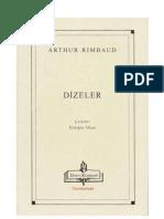 Arthur Rimbaud - Dizeler