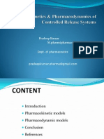 pharmacokinetic & pharmacodynamic (pk and pd)models of controlled release system