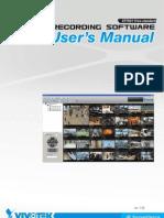 User Manual Camara Vivotek ST7501