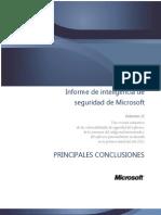 Microsoft Security Intelligence Spanish