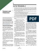 IRS Publication Form Instructions 1040 sj