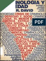 criminologia y sociedad
