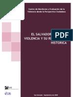 Mapa de la violencia en el Salvador