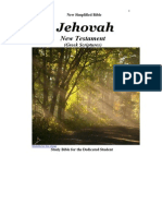 JEHOVAH New Testament, New Simplified Bible