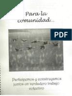 Para la Comunidad (violenca)- Min. DDHH