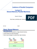 Shared memoy architecture