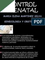 CONTROL PRENATAL_DRA  MARTINEZ