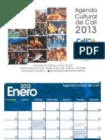 Agenda Cultural Calendario 2013 Ok