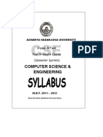 Mtech Nagarjuna University Syllabus