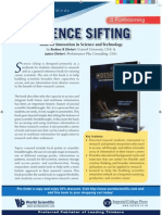 Publisher's flyer - Science Sifting