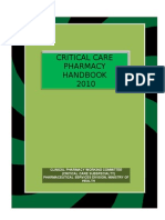 Pharmacy critical care