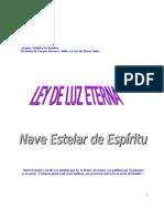 Libro Ley de Luz Eterna