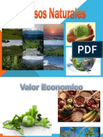 CLASIFICACION DE RECURSOS NATURALES