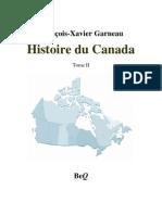 Histoire Du Canada Tome 2 de 2